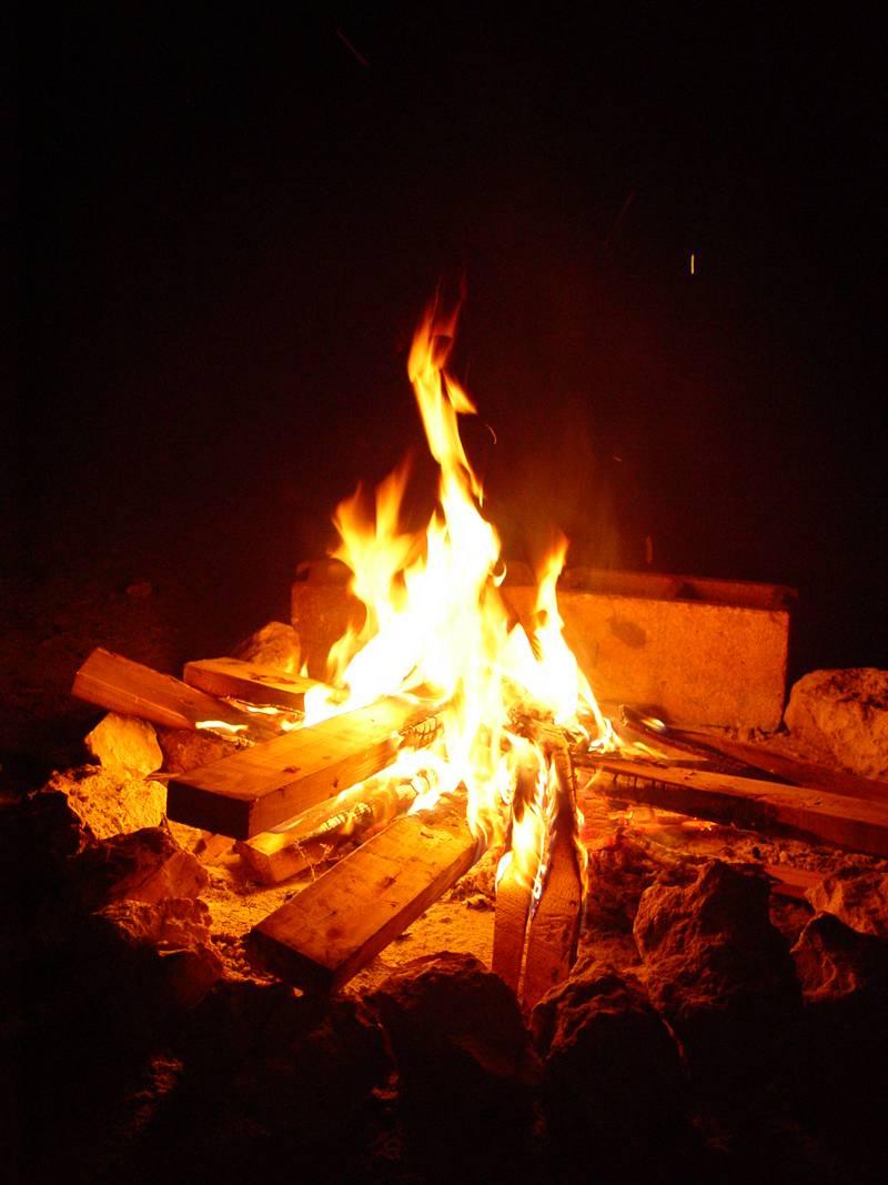 camp fire - photo #3
