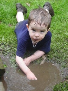 Cleaning Your Kids While Camping