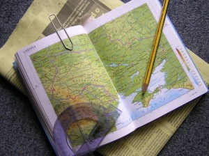 Tips to Organize Your Maps When Backpacking