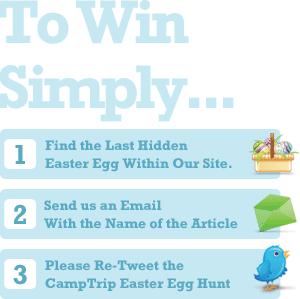 CampTrip Easter Egg Hunt