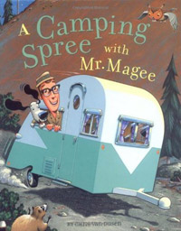 Camping Spree With Mr. Magee Kids Book