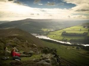 Hiking in the Peak District UK