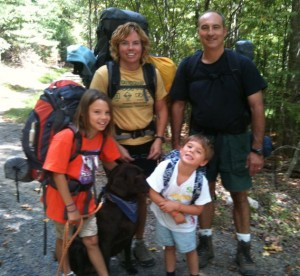 Hiking Along with Kids