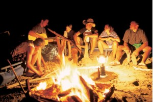 Campfire Stories for Kids Around the Campfire
