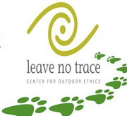 Hiking Along is a Partner with Leave no Trace