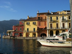 Camping Mishaps on Lake Garda, Italy